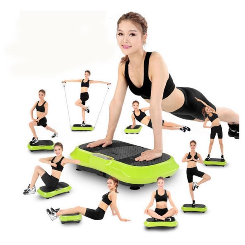 exercise machine vibrates